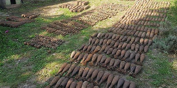 На Кубани местные жители строили времянку и нашли 780 боеприпасов времен войны