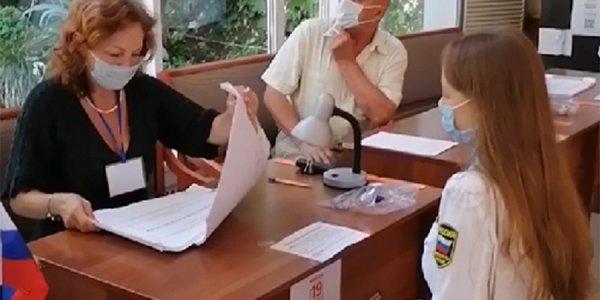 Студентка Анна Юрина: я очень ждала своих первых выборов