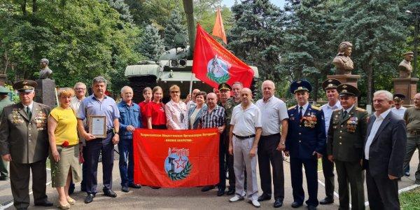 В Краснодаре провели митинг к 75-летию образования танковых войск