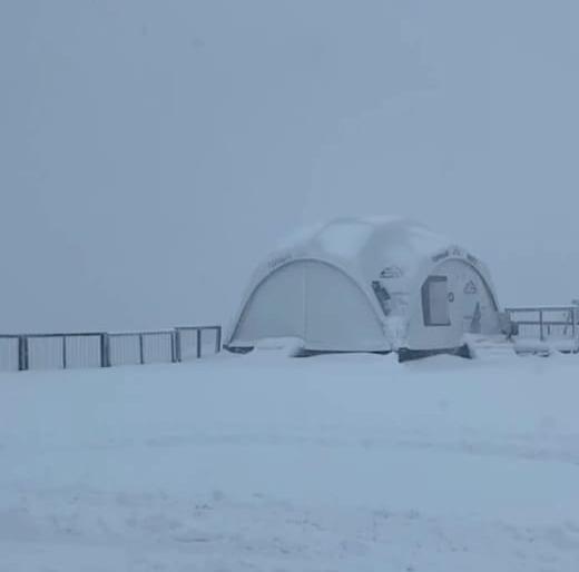 В горах Сочи выпало 17 см снега