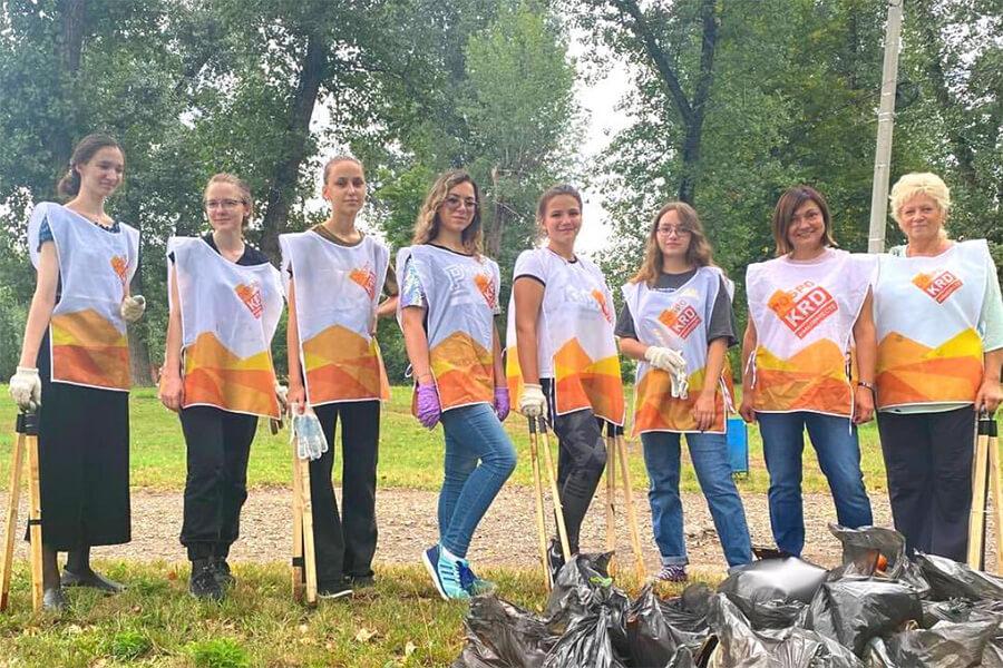 В Краснодаре волонтеры выйдут на очистку берега реки Кубань от мусора