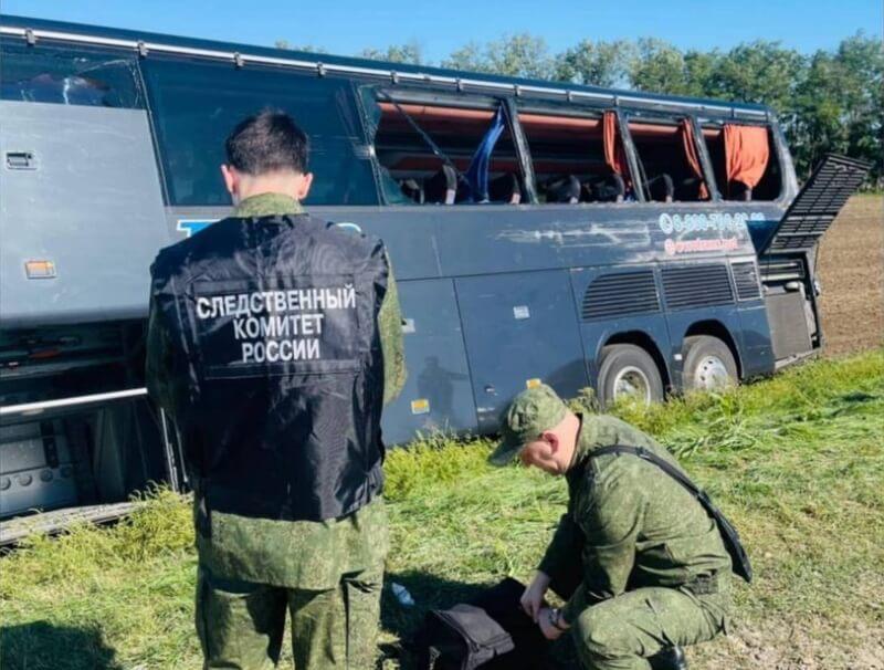 Пассажиров, попавших в ДТП на Кубани, отвезут в Крым резервным автобусом