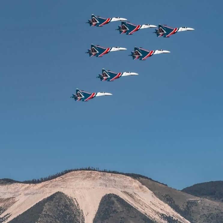 «Русские Витязи» 10 сентября совершат тренировочный полет над Новороссийском
