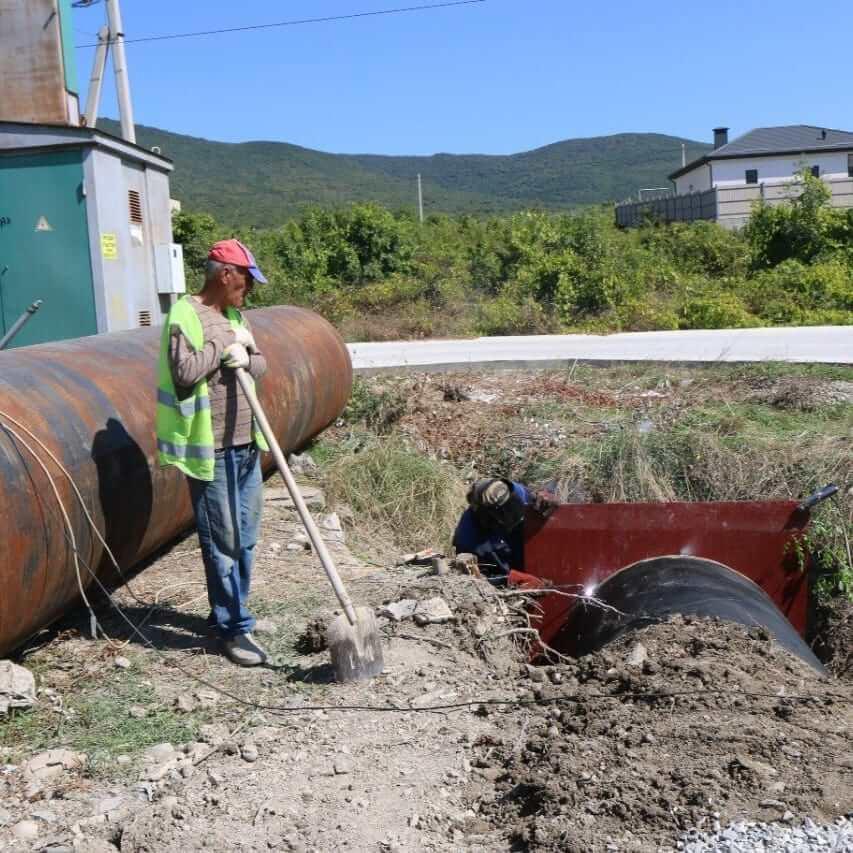 В пострадавшем от подтопления селе под Новороссийском установят селевые ловушки