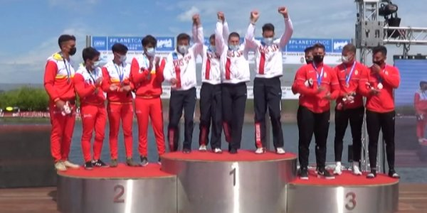 Кубанский байдарочник Дмитрий Быканов стал чемпионом мира среди юниоров