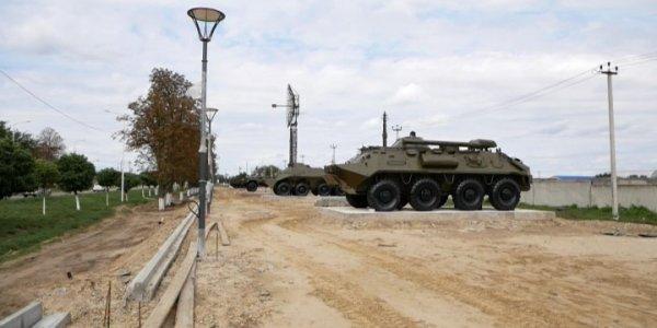 На Аллее Боевой Славы в Гулькевичах установят мемориал и сцену