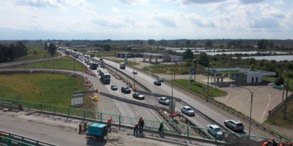 Ремонт трассы М4 «Дон» в районе Тлюстенхабля продлится до 1 ноября