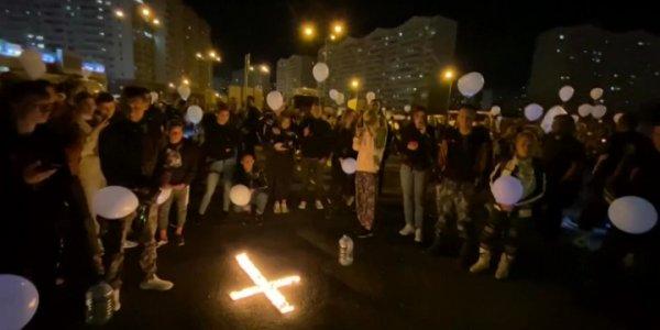 В Краснодаре байкеры устроили мотопробег в честь товарищей, погибших в ДТП