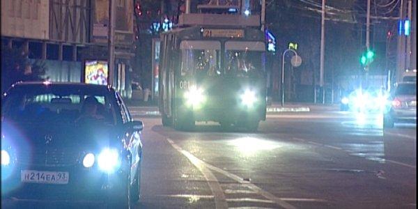 В Краснодаре семь троллейбусных маршрутов сократят время работы