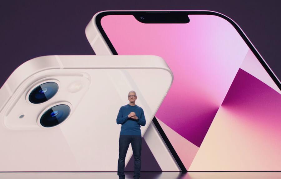 Apple презентовала iPhone 13