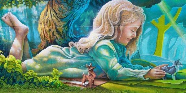 Краснодарский художник нарисовал в Бельгии граффити на стене площадью 2000 кв. м