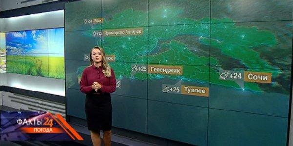 На Кубани 14 сентября ожидаются кратковременные дожди, местами грозы