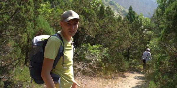 Ведущий «Истории с географией» Денис Сопов побывал в заповеднике «Утриш»
