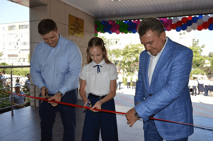 В Ейске по нацпроекту открыли первый в Краснодарском крае школьный «Кванториум»