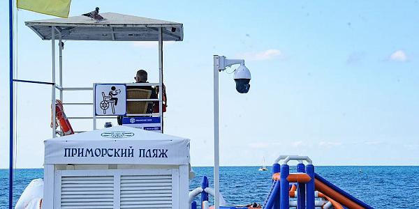 На пляжах Сочи устанавливают работающие в реальном времени видеокамеры