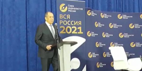 Глава МИД РФ Сергей Лавров посетил конкурс «ТЭФИ-Мультимедиа» в Сочи