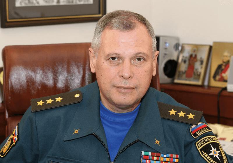 Путин назначил врио главы МЧС генерал-полковника Александра Чуприяна
