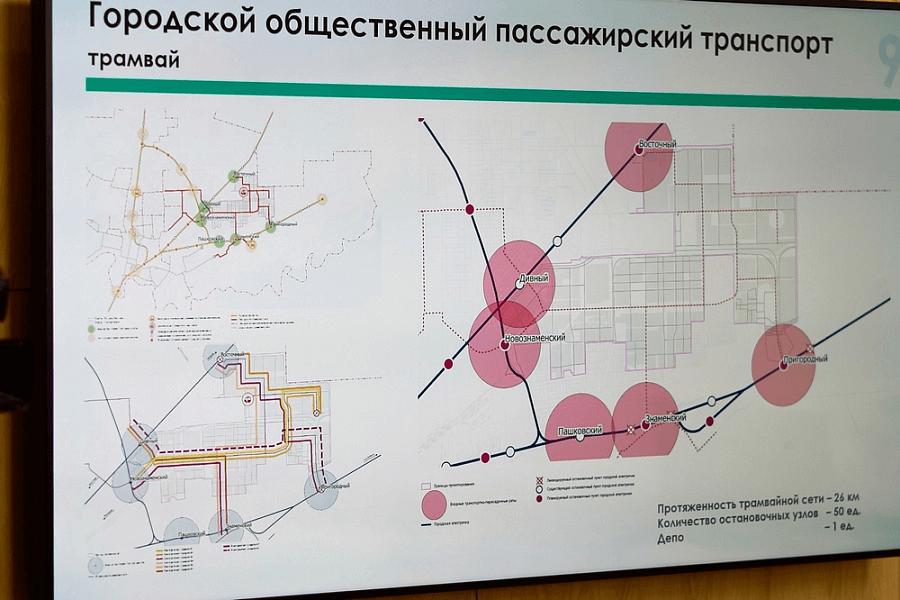 В Краснодаре планируют создать шесть транспортных хабов с электричками
