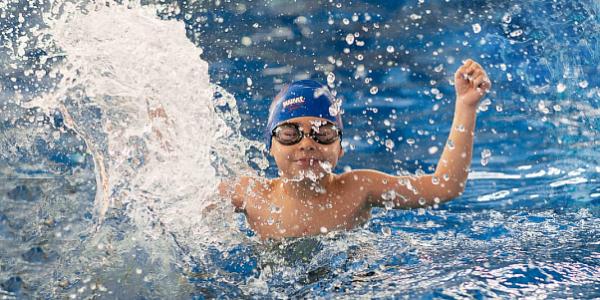 Шестилетний житель Сочи установил рекорд России по плаванию
