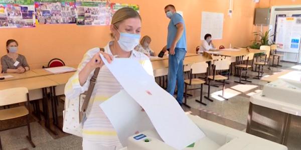 В Краснодаре проголосовала олимпийская чемпионка Ирина Караваева