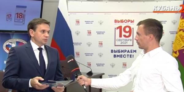 Алексей Черненко: на всех избирательных участках соблюдаются антиковидные меры