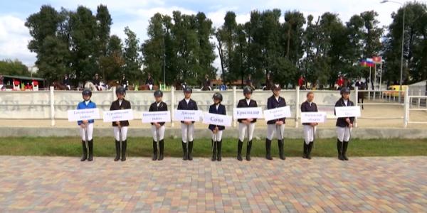 В Динском районе завершился Кубок Краснодарского края по конкуру