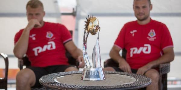 В Анапу привезли Кубок мира по пляжному футболу