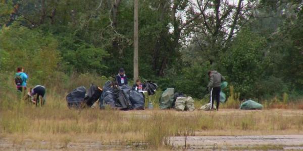 В Краснодаре в рамках экологической акции собрали 1,5 тонны мусора
