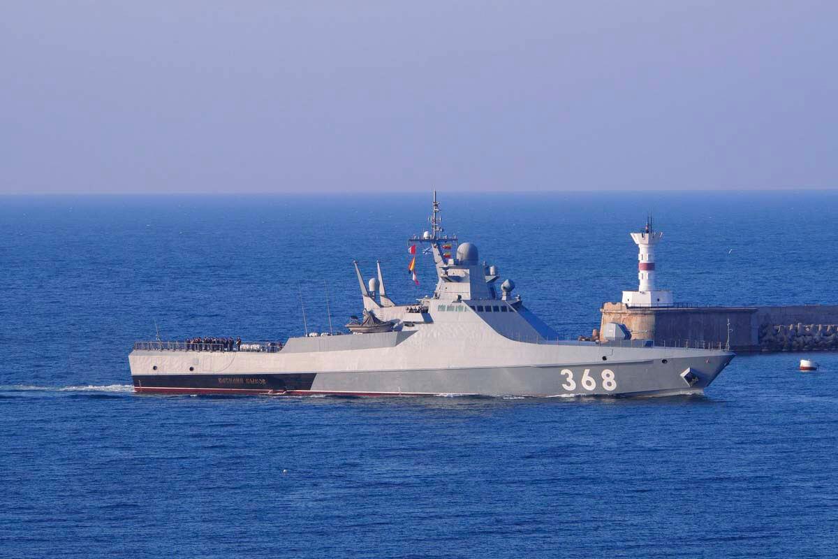 Российские корабли завершили учения в Черном море