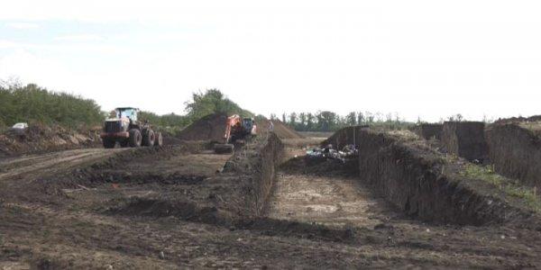 В Тимашевском районе обнаружили древний курган