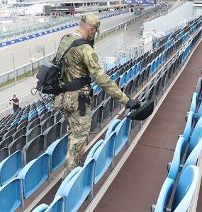 Росгвардейцы обеспечили безопасность гонок «Формулы-1»