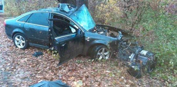 В Горячем Ключе иномарка влетела в дерево, погибли два человека