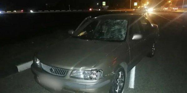 В Белореченском районе иномарка сбила подростка на электросамокате