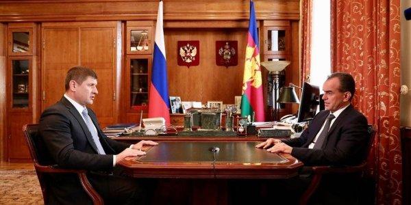 Алексеенко подал документы на участие в конкурсе на должность мэра Краснодара