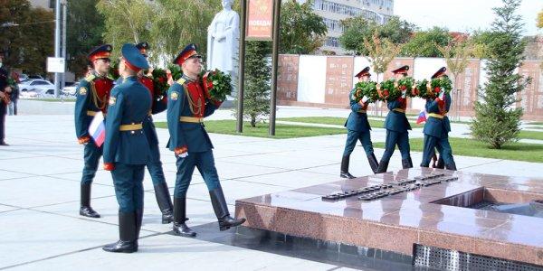 В Краснодаре почтили память освободителей Кубани и участников Битвы за Кавказ
