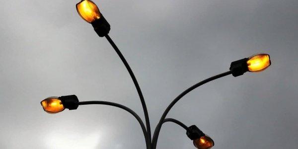 В микрорайоне Гидростроителей Краснодара построили 1,5 км сетей освещения