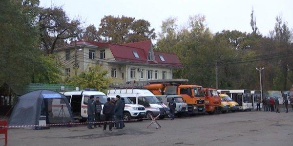 В Краснодаре впервые прошли учения по оказанию финансовой помощи жителям при ЧС