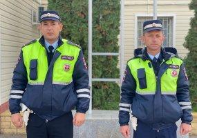 Госавтоинспекторы оказали доврачебную помощь водителю с сердечным приступом