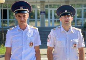 Полицейские Новороссийска помогли оперативно доставить беременную женщину в роддом
