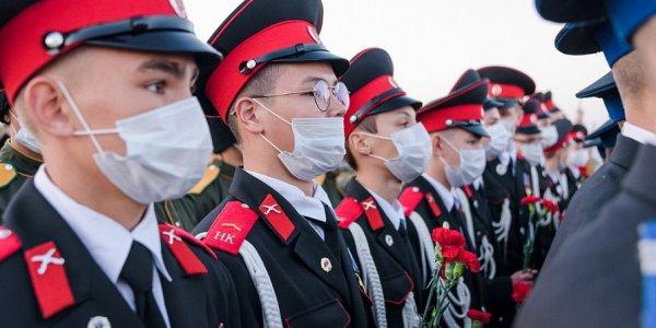 Кадеты двух казачьих корпусов Кубани вышли в лидеры всероссийских соревнований