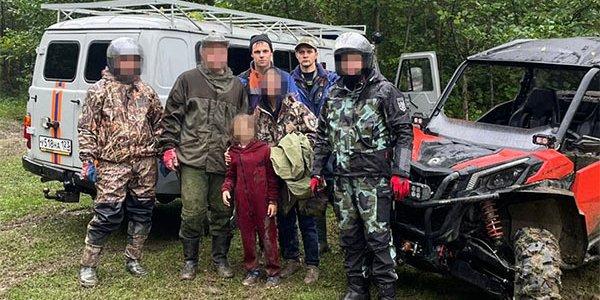 В горах Краснодарского края на выходных заблудились восемь человек