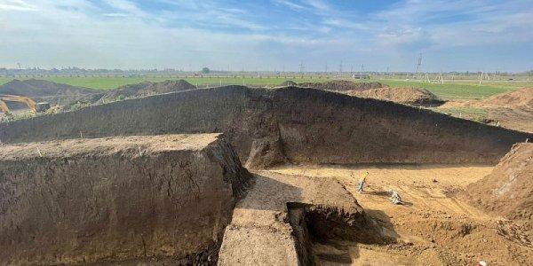 В Динском районе археологи нашли древнее элитное захоронение