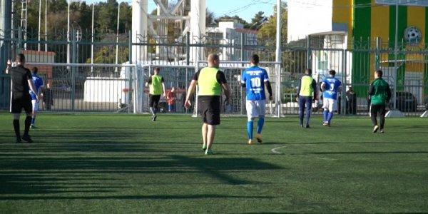 В Краснодаре завершился футбольный этап спартакиады министерства ГО и ЧС