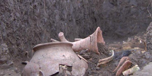 В Динском районе ученые исследовали 173 древних погребения